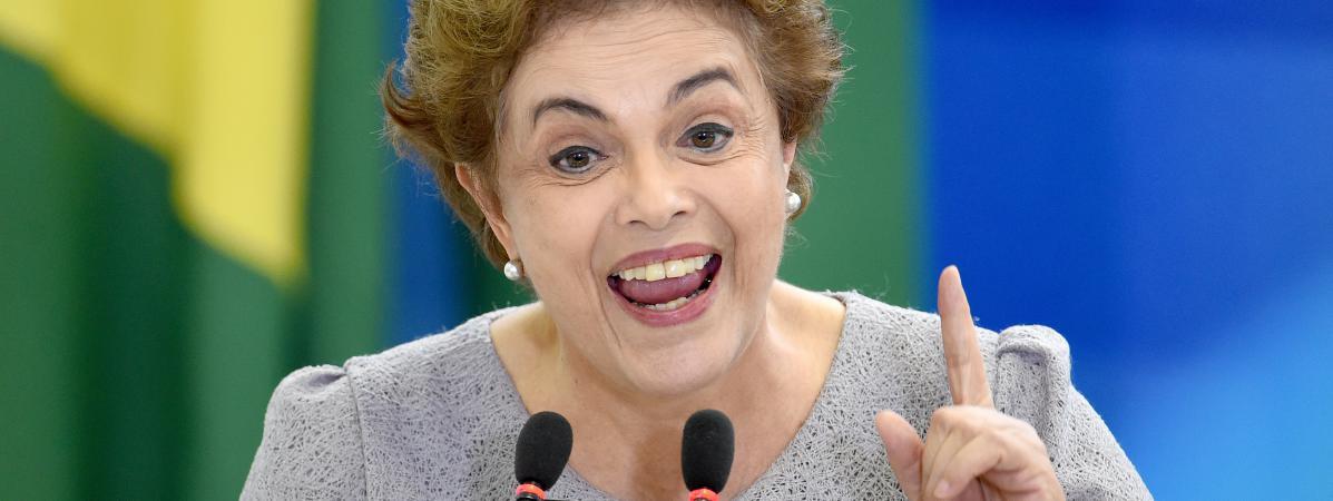 """Brésil: Rousseff, sous la menace d'une destitution, dénonce un """"coup d'Etat"""""""