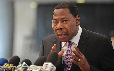 """Bénin Mission UA: """"La démocratie n'est pas du vent """" dixit Boni Yayi"""