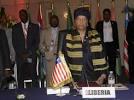Ellen Johnson Sirleaf, première présidente de la Cédéao