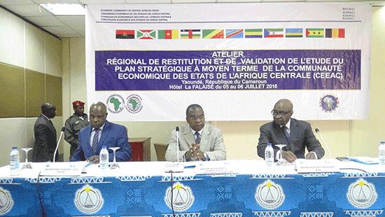 Atelier régional de restitution et de validation de l'Etude du Plan stratégique à moyen terme(PSMT) de la Communauté Economique des Etats de l'Afrique Centrale(CEEAC)