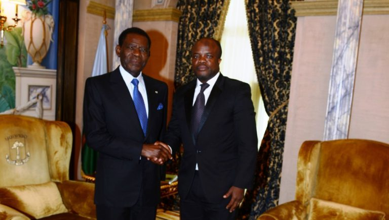 Caravane africaine de la Liberté – Abel Naki reçu en audience par le Président Obiang NGuema Mbasogo