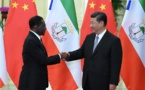 Le Président de la Guinée équatoriale Teodoro Obiang Nguema Mbasogo a rencontré ce dimanche le Président Chinois Xi Jinping