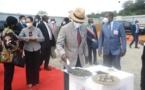 Guinée équatoriale : Première pierre de l'hôpital de Niefang financé par le Gouvernement chinois