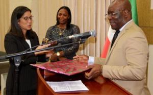 Dîner d'adieu au ministère des affaires étrangères, en l'honneur de l'ambassadrice des USA ,en fin de mission en Guinée Equatoriale !