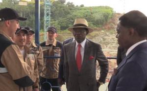 Guinée Equatoriale : le Président Obiang Nguema Mbasogo se rend sur place à Sendje pour toucher du doigt de l'état d'avancement des travaux de la centrale hydroélectrique