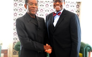 Guinée Equatoriale : Le président Obiang Nguema Mbasogo accorde une audience au président de la BAD