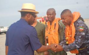 Les sept membres de l'équipage à bord de l'avion des forces armées de Guinée Equatoriale,crashé dans l'espace aérien entre le Cameroun et la Guinée équatoriale,ont été retrouvés sains et saufs!