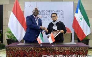 Signature d'accords de  suppression de visas entre la Guinée équatoriale et l'Indonésie
