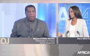 L' invité du jour  avec Miguel Oyono Ndong , Ambassadeur en France