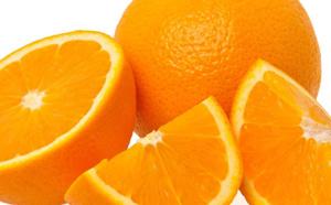 L`orange : toute l`énergie solaire concentrée, c`est le fruit parfait
