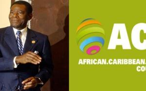 Obiang Nguema honoré par les ACP !