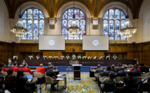 Contentieux entre la France et la Guinée Equatoriale: Les membres de la Cour à l'ouverture des audiences