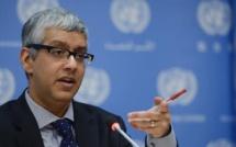M. Farhan Haq, porte parole du secrétaire général de l'ONU