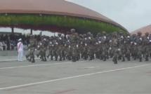 commémoration du cinquantenaire de l'indépendance de la Guinée Equatoriale : Un défilé militaire et populaire incontestablement  réussi !