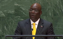 Intervention du ministre Simeon Oyono Esono Angue à l'Onu