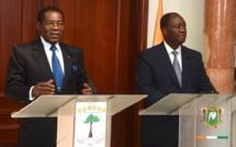 Le Président Teodoro Obiang Nguéma Mbasogo en visite d'amitié et de travail en Côte-d'Ivoire